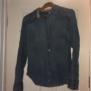 Gap Blue Jean shirt